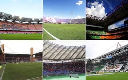 Stadi da Tripadvisor: la classifica per i tifosi