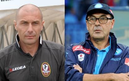 """Conte&Sarri, che """"coppia"""" 10 anni fa in Serie B..."""