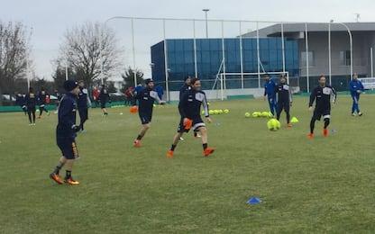 Parma, lavoro incentrato sull'attacco: 3 a parte
