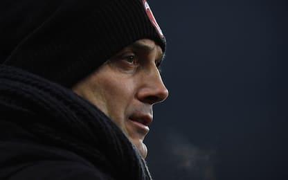 Berlusconi-Montella, il grande freddo
