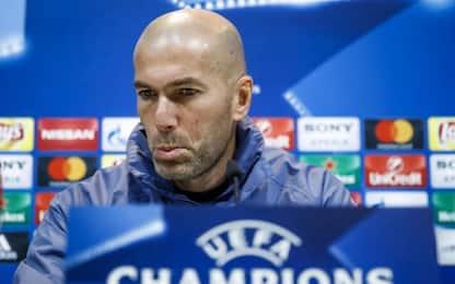 """Real, Zidane: """"Il Napoli ci farà soffrire. Su Maradona..."""""""