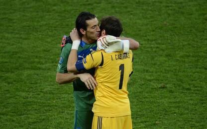 """Casillas 1000, Buffon: """"Teniamo testa ai 20enni"""""""
