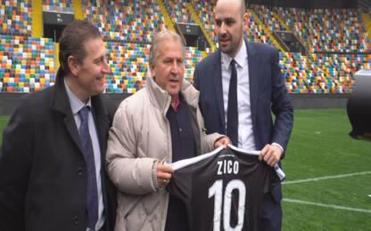 """Udinese, il ritorno di Zico: """"Sognavo lo scudetto"""""""
