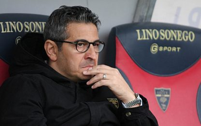 Lecce, esonerato Padalino: Rizzo nuovo allenatore