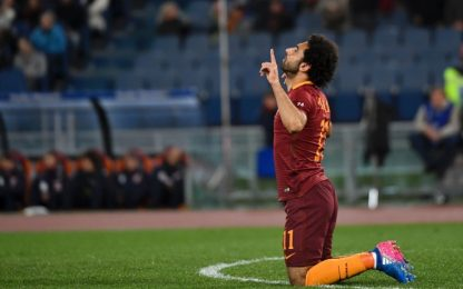 Roma, altri 4 gol. E Salah torna protagonista