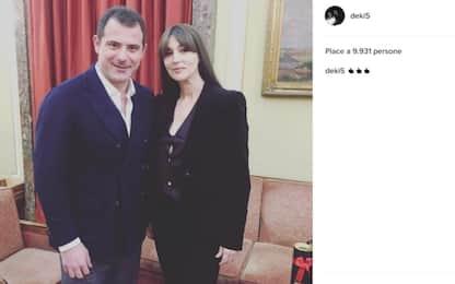 Monica Bellucci a Belgrado, Stankovic non resiste