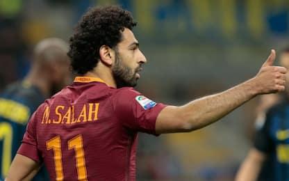 Roma, rifiutata offerta del Liverpool per Salah