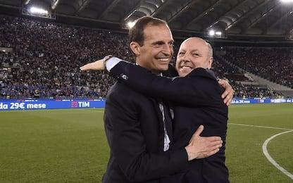 """Juve, Marotta: """"Il ciclo di Allegri non è finito"""""""