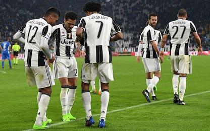 """Dani Alves: """"La Juve non abbassa mai la testa"""""""
