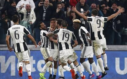 Juventus, 31 vittorie allo Stadium e festa social