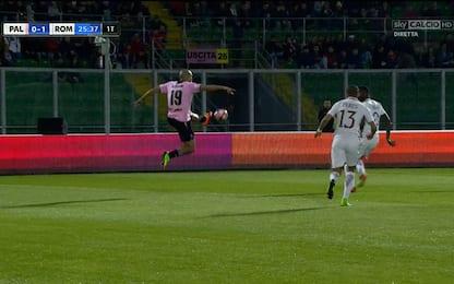 Rigori dubbi per il Napoli, Palermo: il gol c'era