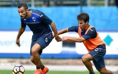 Sampdoria, doppia seduta: out Palombo e Puggioni