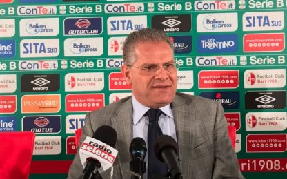 """Bari, Giancaspro: """"Ce la giochiamo con chiunque"""""""