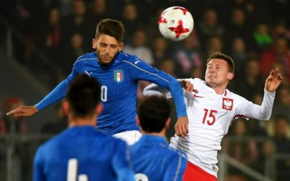 Pellegrini e Benassi, l'Under 21 vince in Polonia
