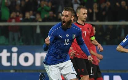 """De Rossi: """"20 gol un onore. Roma? Bene primario"""""""