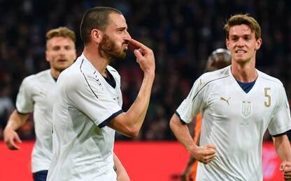 """Bonucci: """"Con la Spagna non partiamo battuti"""""""