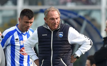 """Pescara, Zeman: """"Muntari? Prevalso buon senso"""""""