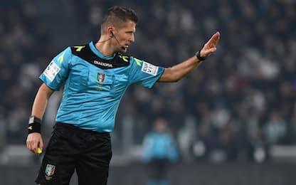 Inter-Juventus, l'arbitro sarà Orsato
