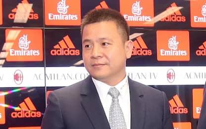 "Milan, Yonghong Li: ""Inizia nuovo capitolo"""
