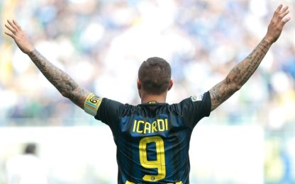 """Inter, Icardi: """"Torniamo a casa a testa bassa"""""""