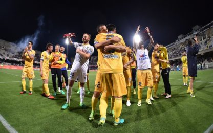 Frosinone a valanga: Salernitana battuta 3-1
