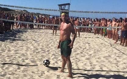Bobo Summer Cup, sfida a footvolley con Vieri
