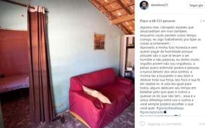 Dani Alves festeggia ricordando le umili origini