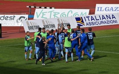 Playoff Lega Pro, girone B: risultati primo turno