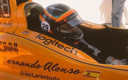 Indy 500, Alonso partirà in 2^ fila
