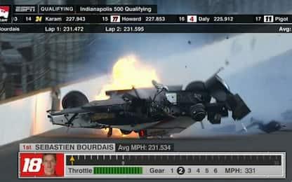 Qualif. Indy 500: Alonso 7°, paura per Bourdais
