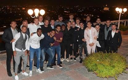 """Totti, 'ultima cena' giallorossa: """"Grazie a tutti"""""""