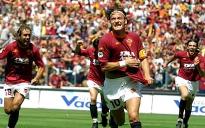 """Totti, """"magico"""" anche nelle esultanze"""