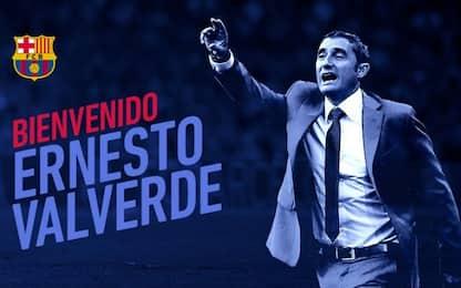 Barcellona, Valverde è il nuovo allenatore