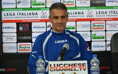 "Lucchese, Lopez: ""Onore a questa squadra"""