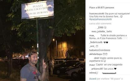 """Roma, c'è """"Piazza Totti"""" su Google Maps"""