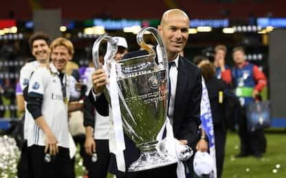 Juve-Real, il discorso di Zidane all'intervallo