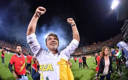 """Benevento, Baroni: """"Vorrei allenare in Serie A"""""""