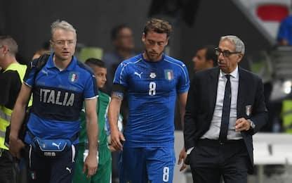 Azzurri, out Marchisio. Ventura chiama Gagliardini