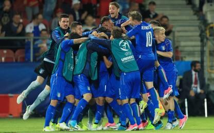 Pellegrini-Petagna, Italia U21 batte la Danimarca