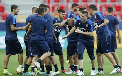 Italia U21, Di Biagio cambia in mezzo. Caldara out