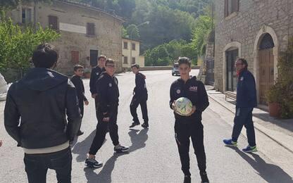 Arquata, il calcio un anno dopo il sisma