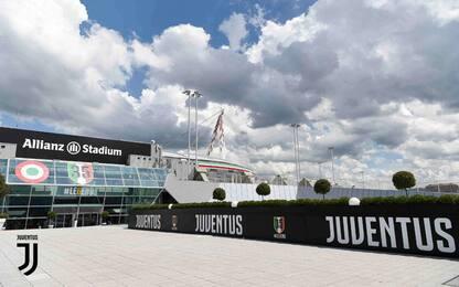 Juve, debutta il nuovo logo e l'Allianz Stadium