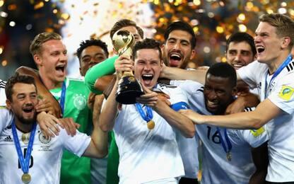 La Conf Cup è della Germania: Cile ko 1-0