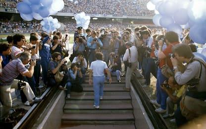 """Napoli, il giorno di """"Re"""" Maradona: come nel 1984"""