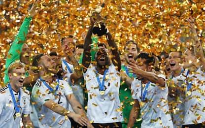 Ranking Fifa: Germania in vetta, Italia dodicesima
