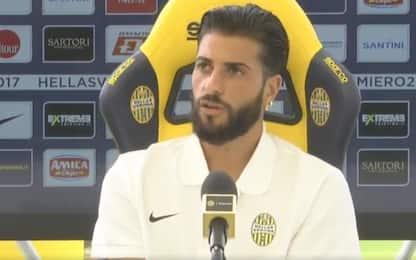 """Hellas Verona, Verde: """"Qui c'è il giusto mix"""""""