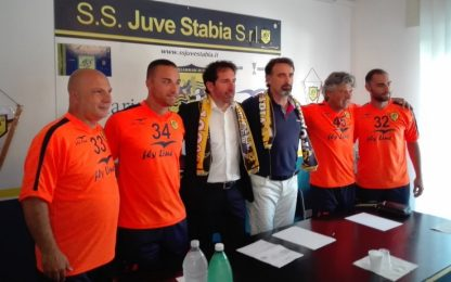 """Juve Stabia, Caserta: """"Un sogno che si realizza"""""""