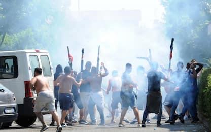 Brescia-Cagliari: incidenti prima della gara