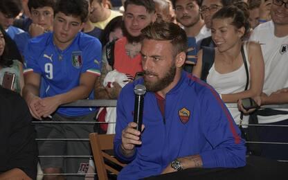 """De Rossi: """"Scudetto? Se Juve fallisce tocca a noi"""""""