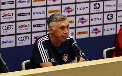 """Ancelotti: """"Vidal resterà al Bayern Monaco"""""""